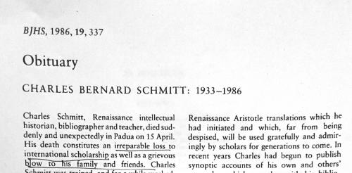 Academic obituaries